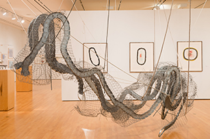 CONTINGENt: drawing and sculpture by Joan Tanner